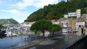 Puerto, casco antiguo San Sebastián